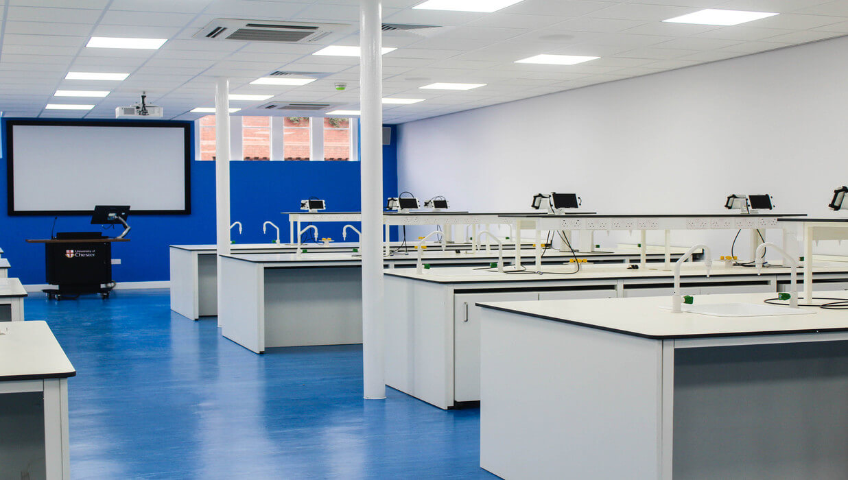 UOC Old collage laboratory refurbishment Teksol LTD